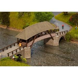Faller 120494 Maquette, vieux pont en bois