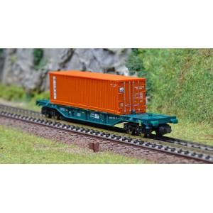 Fleischmann 825212 Wagon porte conteneurs «CMBT», IFB, échelle N