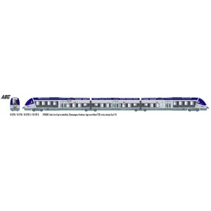 LS Models 10078S Autorail AGC X 76600, Champagne Ardenne, digital sonore