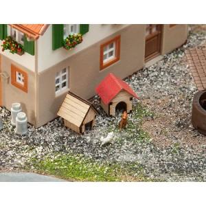 Faller 180309 Maquette, Niches de chien