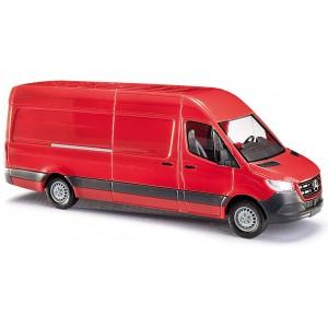Busch 52601 Mercedes Sprinter rouge