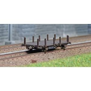 Ree modeles WB-563 Wagonnets de Draisine, Plat à ranchers, ep. III-IV