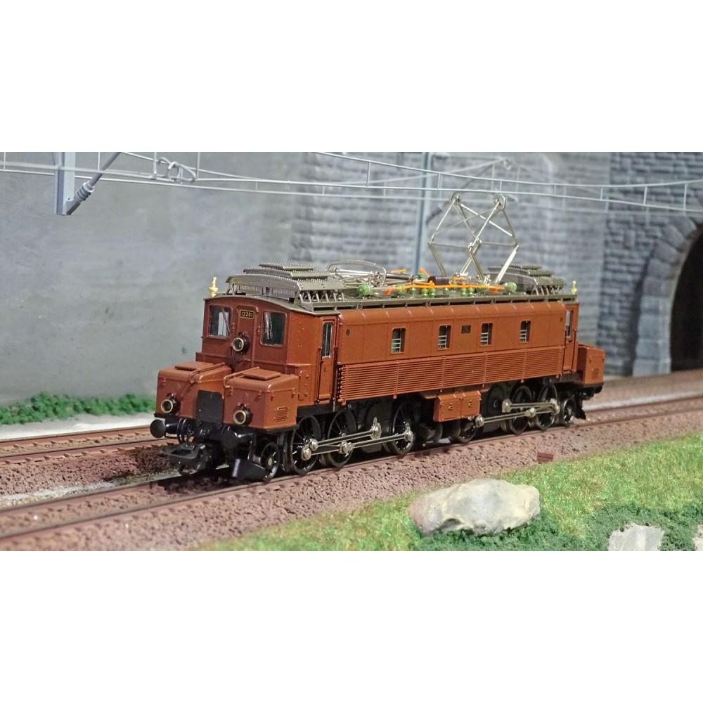 Marklin 39520 Locomotive électrique série Fc 2x3/4, CFF, digitale sonore, 3 Rails