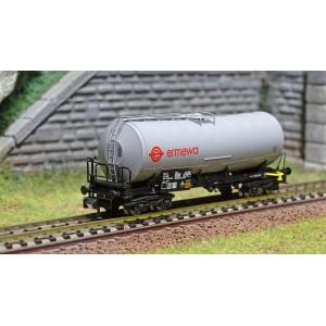 Arnold HN6395 Wagon citerne à bogies, SNCF, livré gris, Ermewa, échelle N