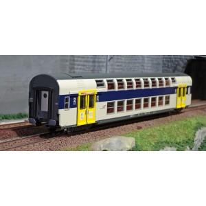 ViTrains 3215 Voiture voyageurs VB2N SNCF, livré Nord Pas de Calais, 2ème classe, Logo casquette
