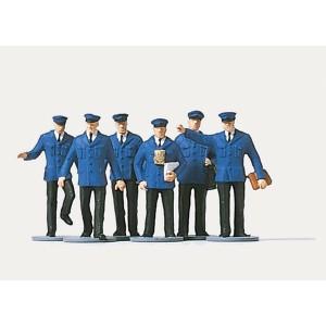 Preiser 0212529 Personnages, Personnel ferroviaire