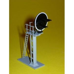 SD-RVJ-04 Signal cablé 4 feux, disque, en métal