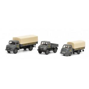 Schuco 452646200 Set de 3 camions DB