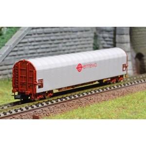 Fleischmann 837710 Wagon à bâche coulissante, ERMEWA