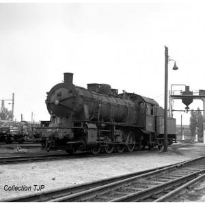 Jouef HJ2404 Locomotive à vapeur 040 D, Nord, noir et vert SNCF