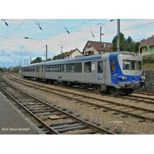 Jouef HJ2612 Autorail EAD X 4500, SNCF, livré bleu / argent