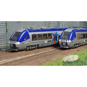 LS Models 10074 Autorail AGC X 76633, Basse Normandie