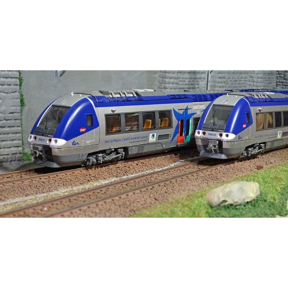 LS Models 10074S Autorail AGC X 76633, Basse Normandie, digital sonore