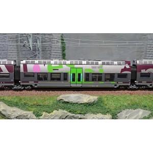 LS Models 10084 Autorail AGC B 81000, Rhône-Alpes