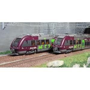 LS Models 10084S Autorail AGC B 81000, Rhône-Alpes, digital sonore