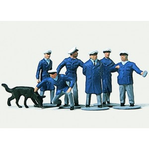 Preiser 0212246 Personnages, Policiers