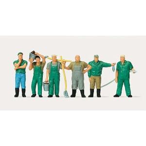 Preiser 0212559 Personnages, gardiens de zoo
