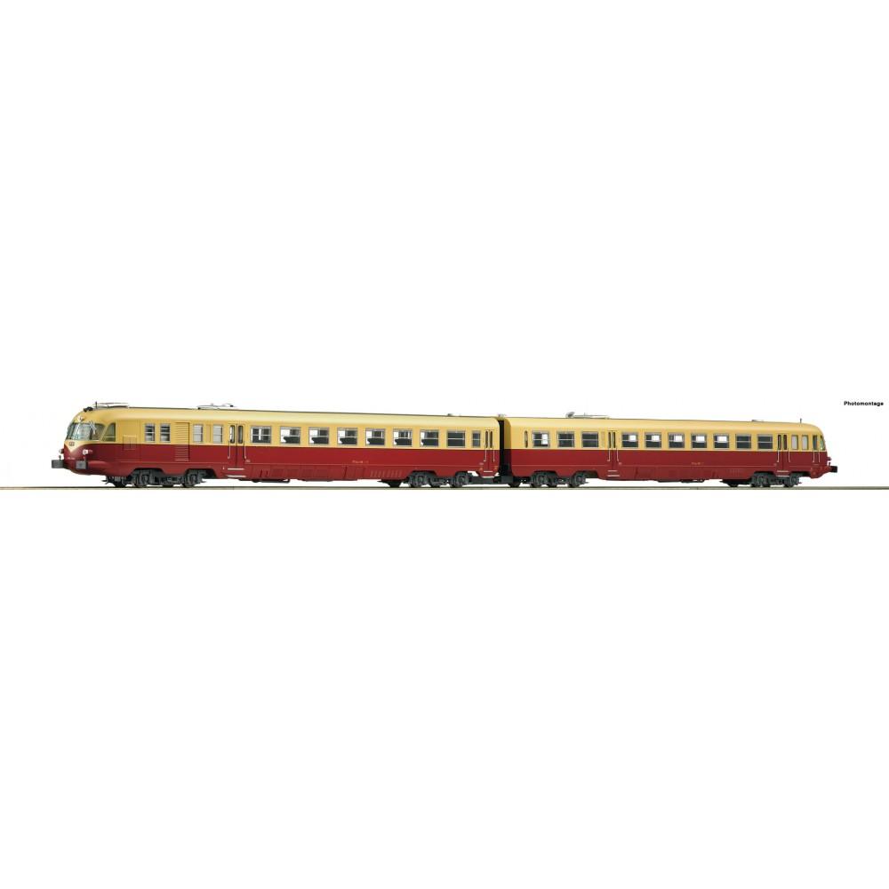 Roco 73177 Autorail diesel série ALn 448/460, FS, digital sonore