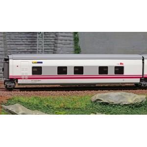 """Electrotren E3362 Voiture lit Talgo """"Elipsos"""", RENFE / SNCF, porte coté gauche"""