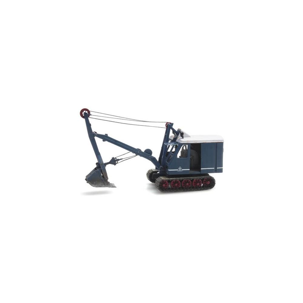 Artitec 387.410 Grue de chantier à câbles sur chenilles, bleue, Krupp-Dolberg D300
