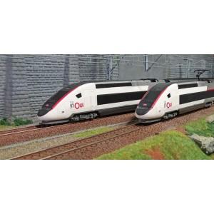 Jouef HJ1060 Coffret de départ TGV inOui Duplex SNCF, 4 éléments, gamme junior