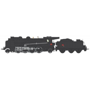 Ree Modeles MB-126.S Locomotive à vapeur 4-141 F 309, SNCF, PERIGUEUX , sonore,fumée