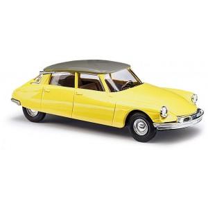 Busch 48028 Véhicule Citroen DS 19, bicolore jaune