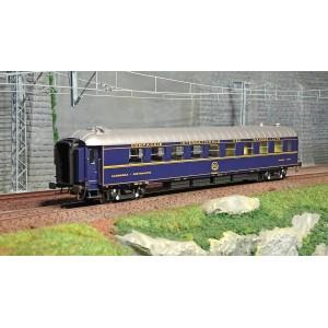 LS Models 49198 Voiture WR Breda, bleu, livrée 1971, CIWL, parc italien