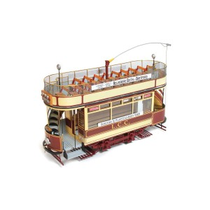 OcCre 53008 Tram London L.L.C. 106 1/24 kit construction bois métal