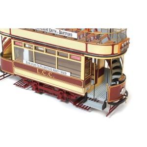 OcCre 53008 Tram London L.L.C. 106 1/24 kit construction bois métal
