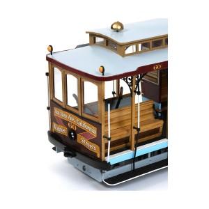 OcCre 53007 Tram Cable Car San Francisco 1/24 kit construction bois métal