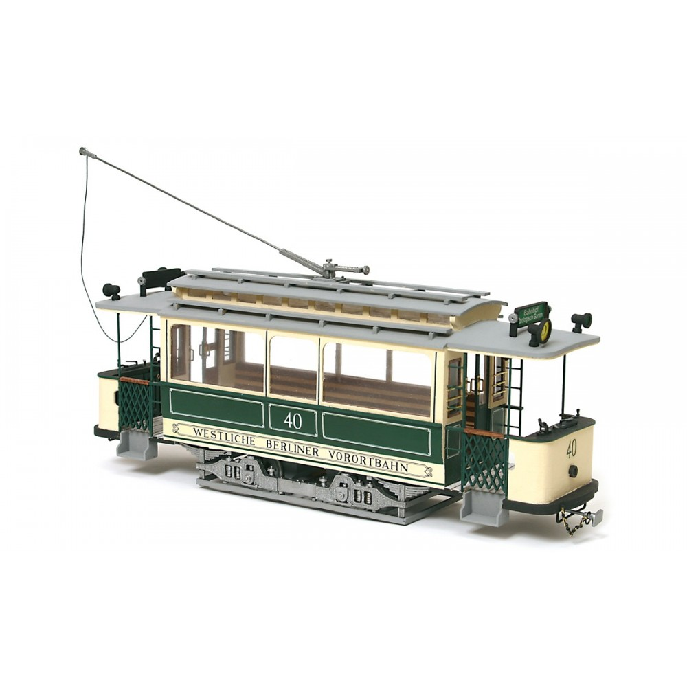 OcCre 53004 Tram Berlin 1/24 kit construction bois métal