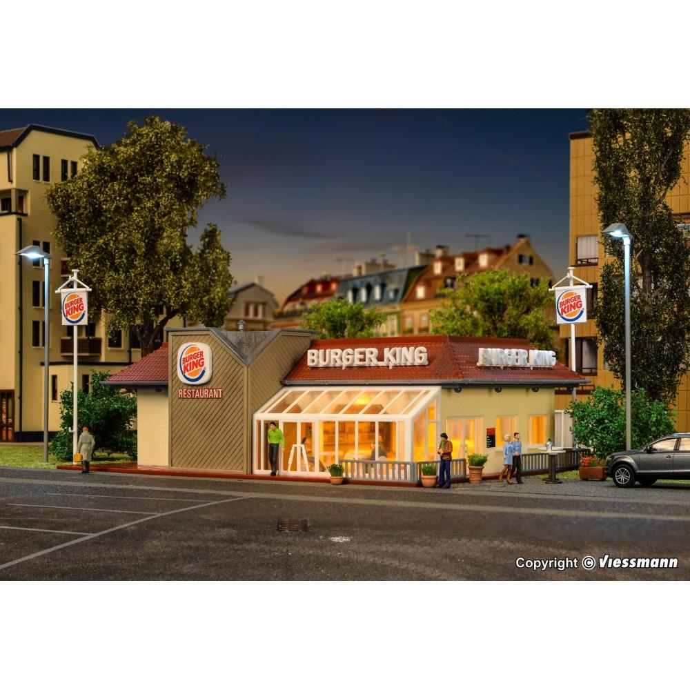 Vollmer 43632 Maquette, Restaurant Burger King, éclairé