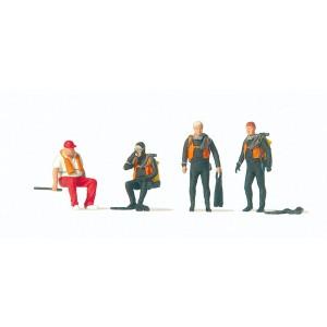 Preiser 10693 personnages, Plongeurs