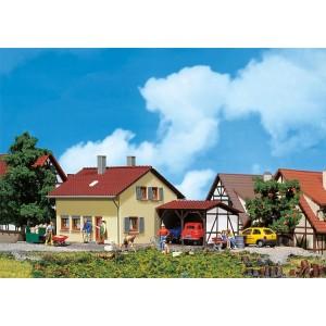 Faller 131358 Maquette, Maison de colons avec culture