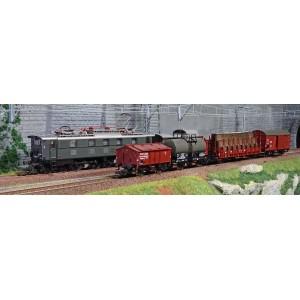 Roco 51323 Coffret de départ train marchandises électrique série E 52, DRG, digital sonore, Z21 start