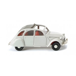 Wiking 080914 Citroën 2 CV Gris clair