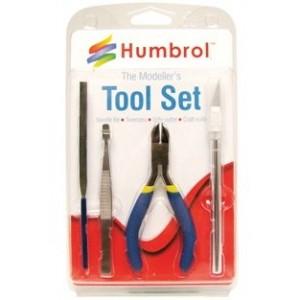 Humbrol HG9150 Set d'outils réalisation maquettes, petit coffret