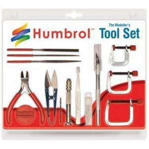 Humbrol HG9159 Set d'outils réalisation maquettes, grand coffret