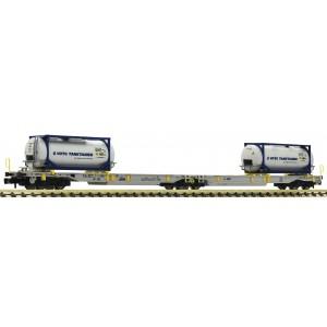 Fleischmann 825015 Wagon-poche articulé double T2000, AEE, échelle N