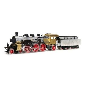 OcCre 54002 Locomotive vapeur S3/6 BR-18 1/32 kit construction bois métal