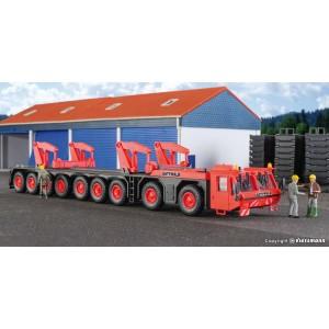 Kibri 10442 Camion de transport pour grue téléscopique GOTTWALD