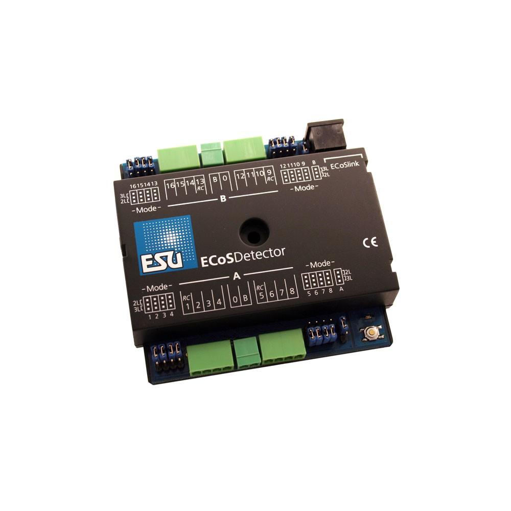 Esu 50094 Détecteur RailCom16 entrées - ECoSDetector