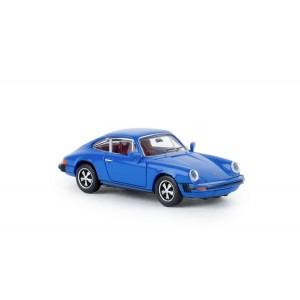 Brekina 16315 Porsche 912 G (1974), Bleu