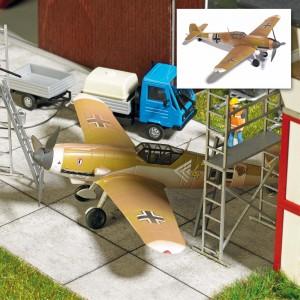 Busch 25015 Avion Messerschmitt Bf109 Epave