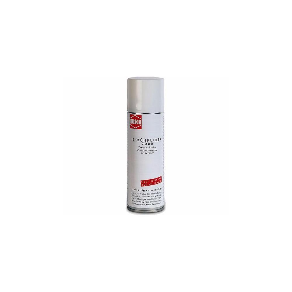 Busch 7000 Colle spray en aérosol, contenance 300ml