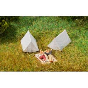 Faller 180987 Maquette, 4 Tentes