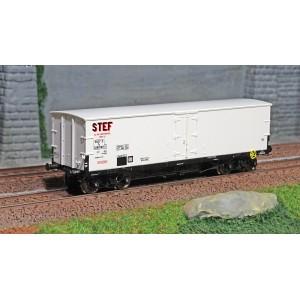 Ree modeles WB-580 Wagon TP FRIGO Origine, SNCF, STEF, ep. III
