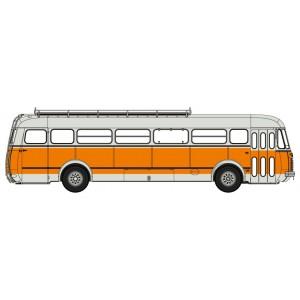 Ree Modeles CB122 Autocar Renault R4190 orange et gris, Transports Mèresse, Iwuy (59)