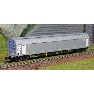 Fleischmann 838317 Wagon à parois coulissants de grande capacité, SNCF